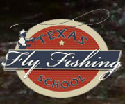 texas fly fishing school logo